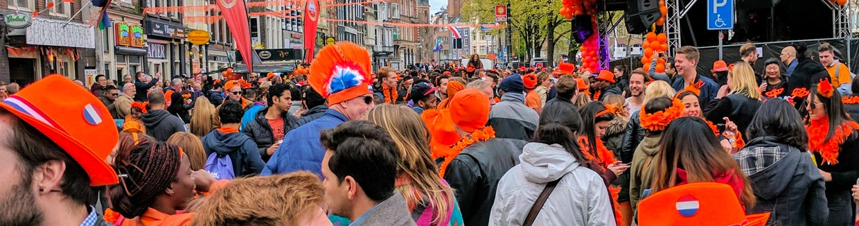Koningsdag in Nederland