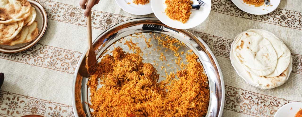 Eten tijdens Ramadan