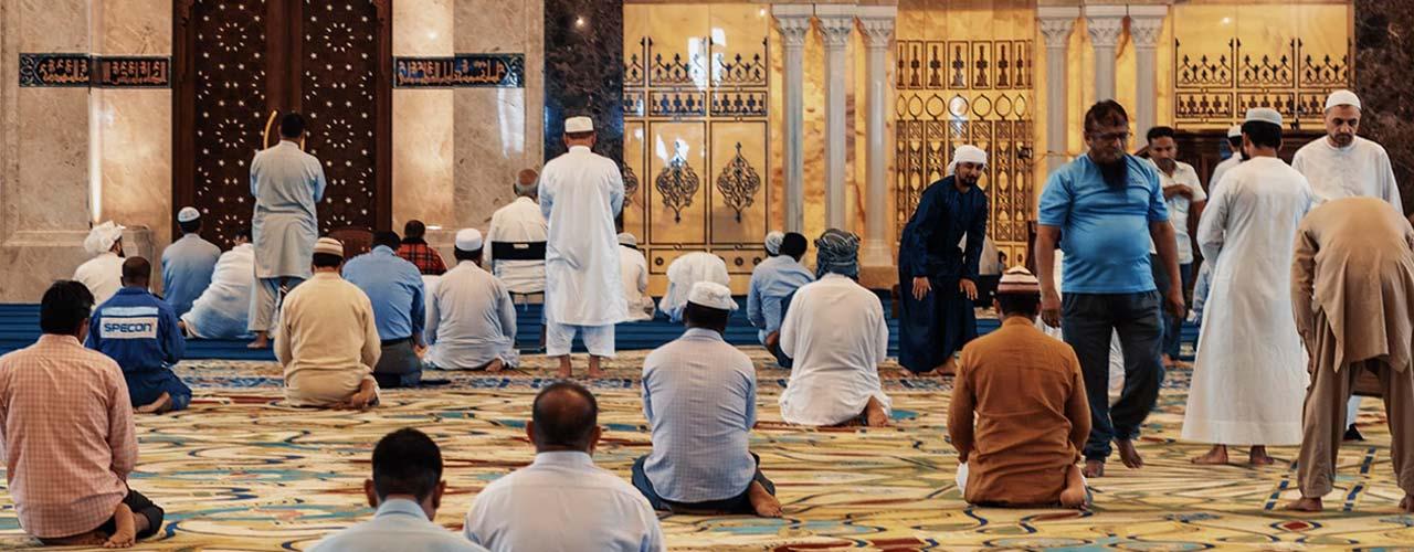 Ramadan - mensen bidden
