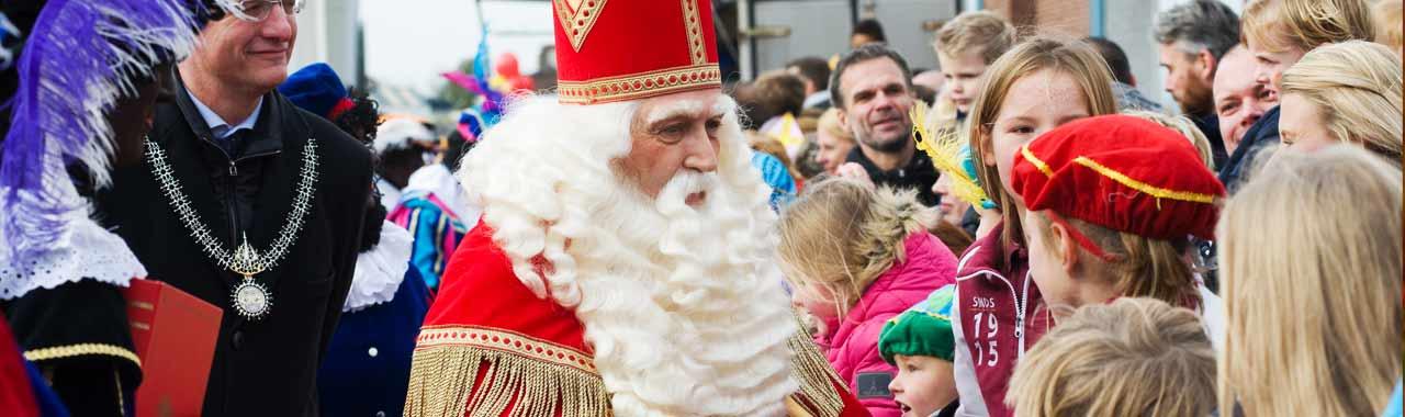 Sinterklaas op 5 december