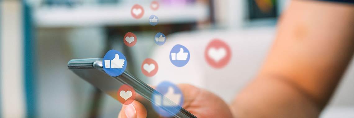 Inhakers voor social media