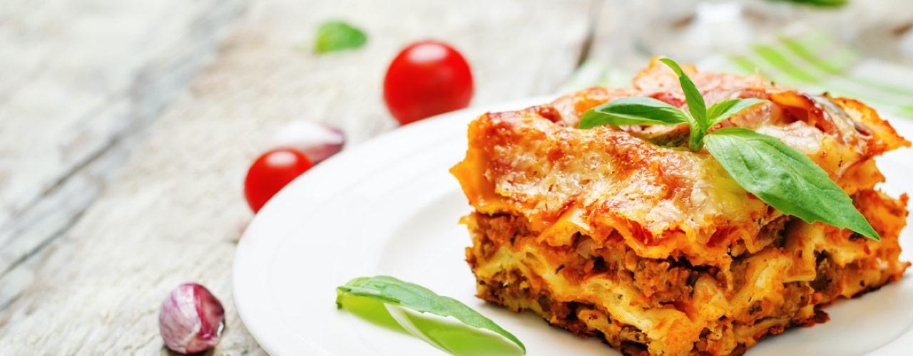 Wereld lasagne dag